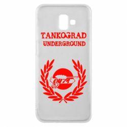 Чохол для Samsung J6 Plus 2018 Tankograd Underground
