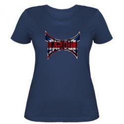 Женская футболка Tapout England - FatLine