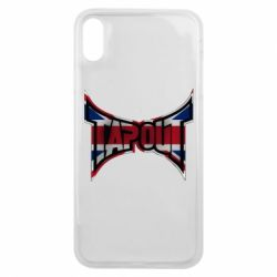 Чехол для iPhone Xs Max Tapout England
