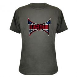 Камуфляжная футболка Tapout England - FatLine
