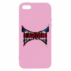 Купить MMA, Чехол для iPhone5/5S/SE Tapout England, FatLine