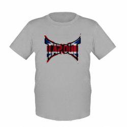 Детская футболка Tapout England - FatLine
