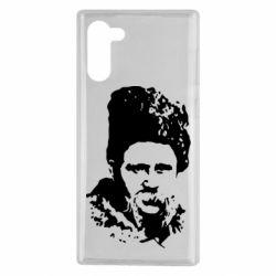Чехол для Samsung Note 10 Тарас Григорович Шевченко