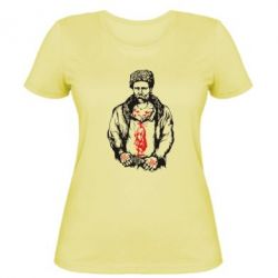 Женская футболка Тарас Шевченко
