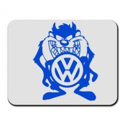 Коврик для мыши Тасманский дьявол Volkswagen - FatLine