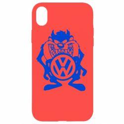 Чехол для iPhone XR Тасманский дьявол Volkswagen