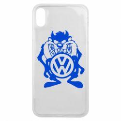 Чехол для iPhone Xs Max Тасманский дьявол Volkswagen