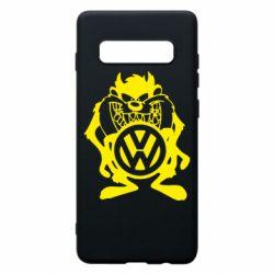 Чехол для Samsung S10+ Тасманский дьявол Volkswagen