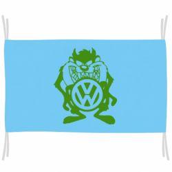 Флаг Тасманский дьявол Volkswagen
