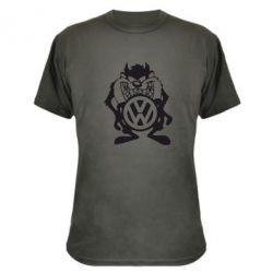 Камуфляжная футболка Тасманский дьявол Volkswagen - FatLine