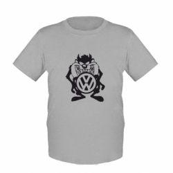 Детская футболка Тасманский дьявол Volkswagen