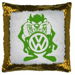 Подушка-хамелеон Тасманский дьявол Volkswagen
