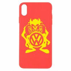 Чехол для iPhone X/Xs Тасманский дьявол Volkswagen