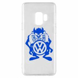 Чехол для Samsung S9 Тасманский дьявол Volkswagen