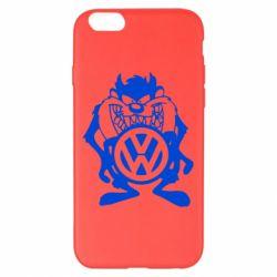 Чехол для iPhone 6 Plus/6S Plus Тасманский дьявол Volkswagen