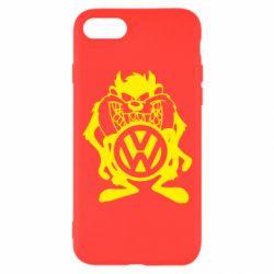 Чехол для iPhone 7 Тасманский дьявол Volkswagen