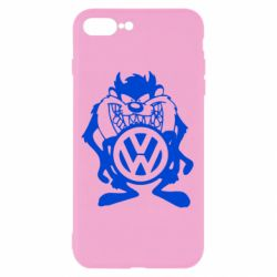 Чехол для iPhone 8 Plus Тасманский дьявол Volkswagen