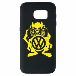 Чехол для Samsung S7 Тасманский дьявол Volkswagen