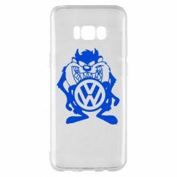 Чехол для Samsung S8+ Тасманский дьявол Volkswagen