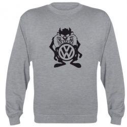 Реглан (свитшот) Тасманский дьявол Volkswagen - FatLine