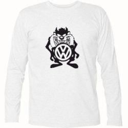 Футболка с длинным рукавом Тасманский дьявол Volkswagen - FatLine