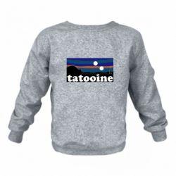 Детский реглан (свитшот) Tatooine