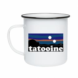 Кружка эмалированная Tatooine