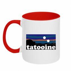 Кружка двухцветная 320ml Tatooine