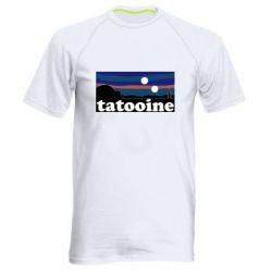 Мужская спортивная футболка Tatooine