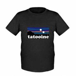 Детская футболка Tatooine