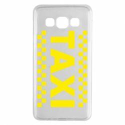 Чехол для Samsung A3 2015 TAXI - FatLine