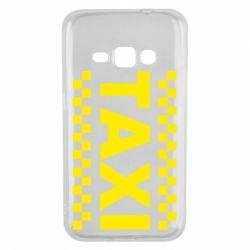 Чехол для Samsung J1 2016 TAXI - FatLine