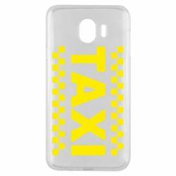 Чехол для Samsung J4 TAXI - FatLine