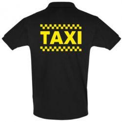 Мужская футболка поло TAXI