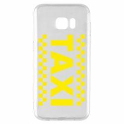 Чехол для Samsung S7 EDGE TAXI - FatLine