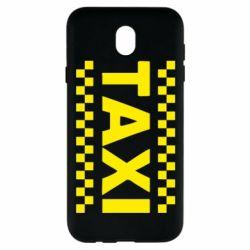 Чехол для Samsung J7 2017 TAXI - FatLine