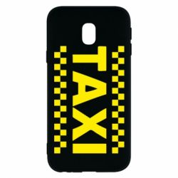 Чехол для Samsung J3 2017 TAXI - FatLine