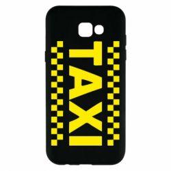 Чехол для Samsung A7 2017 TAXI - FatLine