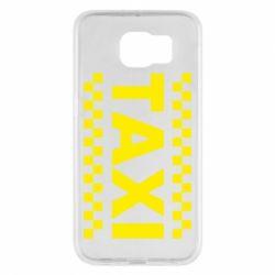 Чехол для Samsung S6 TAXI - FatLine