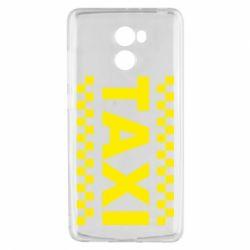 Чехол для Xiaomi Redmi 4 TAXI - FatLine