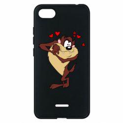Чехол для Xiaomi Redmi 6A Taz in love