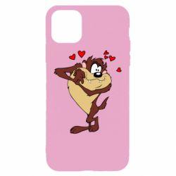 Чехол для iPhone 11 Taz in love