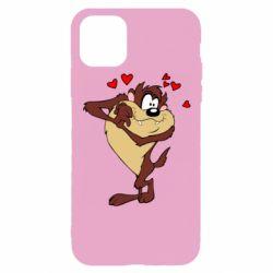 Чехол для iPhone 11 Pro Taz in love