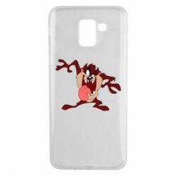 Чехол для Samsung J6 Таз Тасманский дьявол
