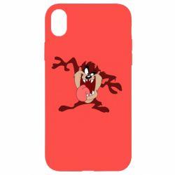 Чехол для iPhone XR Таз Тасманский дьявол