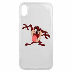 Чехол для iPhone Xs Max Таз Тасманский дьявол