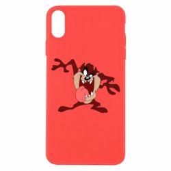 Чехол для iPhone X/Xs Таз Тасманский дьявол