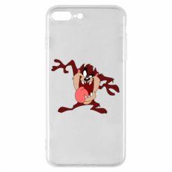 Чехол для iPhone 8 Plus Таз Тасманский дьявол