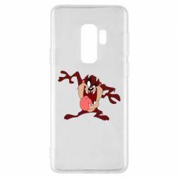 Чехол для Samsung S9+ Таз Тасманский дьявол