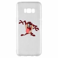 Чехол для Samsung S8+ Таз Тасманский дьявол
